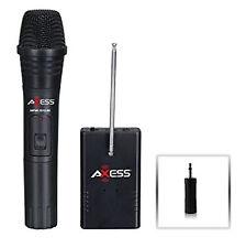 AXESS Handheld Wireless Microphone MPWL1512-BK