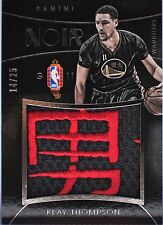 Rare  Klay Thompson 2014-15 Panini Noir Chinese New YearJersey Patch 14/25