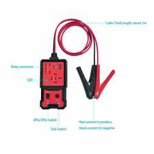 Car Diagnostic Battery Checker Tool Electronic Automotive Relay Tester 12V Auto