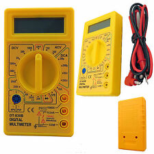 PROFESSIONAL DIGITAL LCD AC DC OHM VOLT METER AMMETER MULTIMETER TESTER CHECKER