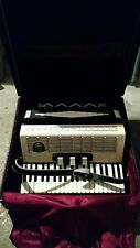 Royal Standard Accordion With Case Mother of Pearl