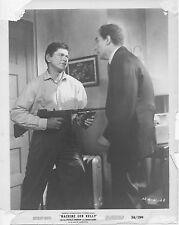 MACHINE GUN KELLY original 1958 studio still photo CHARLES BRONSON/RICHARD DEVON