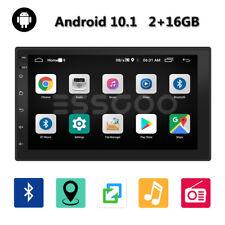 "7"" Android 10.1 Autoradio Mit Bluetooth GPS NAVI 2 DIN MP5 2+16GB WiFi USB FM DE"