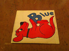 vintage Clifford the Big Red Dog magnet Fridge Refrigerator Blue Childrens Kids