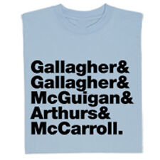 OASIS FULL ORIGINAL BAND LINE UP GALLAGHER MUSIC T SHIRT TEE - ALL SIZES