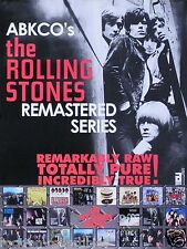 The Rolling Stones ABCKO Remastered Series Original Promo Poster