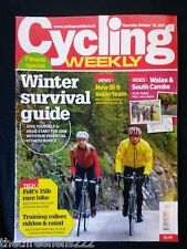 CYCLING WEEKLY - WALES & SOUTH CAMBS RIDES - OCT 18 2007