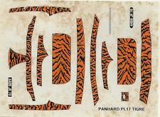 Aufkleber 1/43: Panhard PL17 Tiger 1960