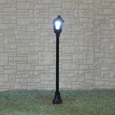 30 pcs HO Gauge Antique Lampposts LEDs made Cold Light NO melt Long life #S004
