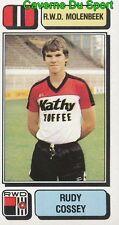 214 RUDY COSSEY BELGIQUE RWD.MOLENBEEK STICKER FOOTBALL 1983 PANINI