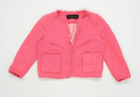 Zara Womens Size M Cotton Pink Jacket