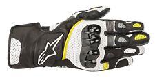 Motorrad Handschuh Alpinestars SP-2 v2 Farbe: Schwarz/Weiß/Gelb Gr: XL