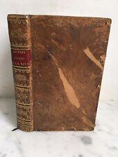 Oeuvres choisies de J.B.Rousseau Stéréotype d'Herhan Paris Mme Veuve Dabo 1823