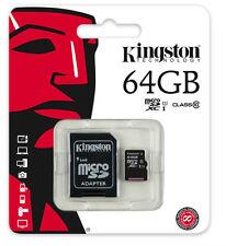 MicroSD XC 64 Go High Capacity Class 10 UHS-1 + adaptateur SD