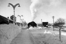 PHOTO  SNOW PLOUGH AT KEITH STATION 1960