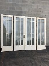 Cm 215 1 Set Antique French Doors With Sidelight Pair