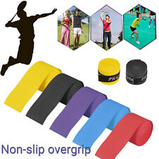 2PC Stretchy Anti Slip Racket Over Grip Roll Tennis Badminton Handle Grip Tape