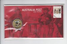 2009 $1 PNC Australia Post 200 Years Stamp & Coin Cover *