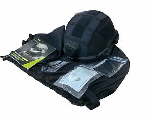 New Revision Batlskin Viper P4 High Cut Black Ballistic Helmet Military