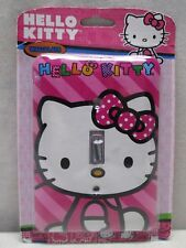 Hello Kitty Single Light Wall Switch Power Outlet Cover Plate Wallplate NEW Pink