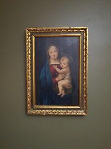 "Raphaels ""Madonna del Granduca"", late 19 century/Italian School"