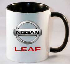 NISSAN  LEAF CAR ART MUG GIFT CUP
