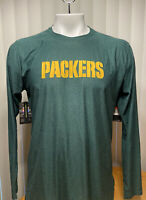 Nike Green Bay Packers Vaporknit On Field Long Sleeve Shirt Men's Size Large XL