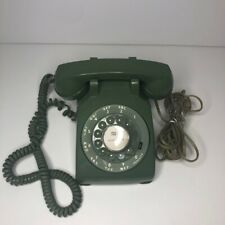 Western Electric Bell System Vintage Rotary Phone RTY-DS R3-76/Avocado Green