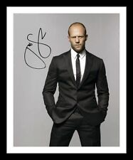 JASON STATHAM AUTOGRAPHED SIGNED & FRAMED PP POSTER PHOTO