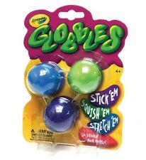 """JUKERS TIKTOK — CRAYOLA """"Globbles"""" 'NEW SLIME!' 3 Pack Assorted Colors. NO MESS"""