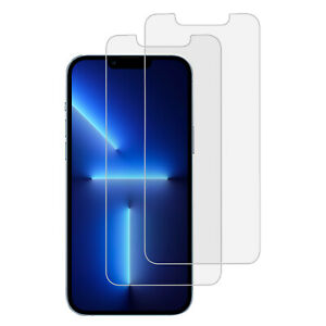 2PCS NEW TEMPERED GLASS Screen Protector iPhone 13 PRO MAX 13 Pro 12 6 6S + plus