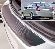 Skoda Octavia MK2 1Z3 Hatchback - Carbon Style rear Bumper Protector