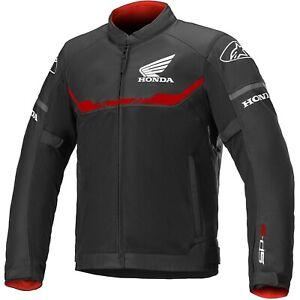 Alpinestars T-Sps Air Honda Men's Biker Jacket with Protectors Summer Textile