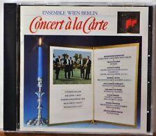 CD Concert a la Carte Ensemble Wien-Berlin Strauss CLEAN DISC Extras Ship Free