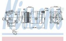NISSENS Compressore climatizzatore 12V 89062 - Auto Pezzi Mister Auto