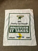 Dallas Stars Rally Towel From the 2003 Stanley Cup Playoffs