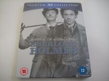 Sherlock Holmes (2009) - Special Edition Premium Steelbook Blu-Ray | New | Rare