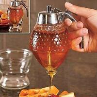 Drip Honey Dispenser Syrup Juice Dispenser Avoid Sticky Kitchen Accessories