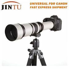 JINTU 650-1300mm f/8-16 Telephoto Lens for Canon 5D 7D 1000D 1100D 1200D 1300D