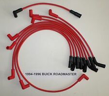BUICK ROADMASTER 1994-1996 LT1 5.7L 350 HIGH PERFORMANCE RED Spark Plug Wires