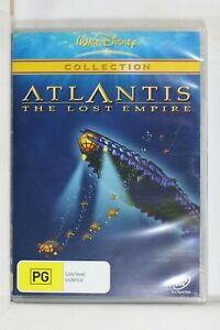 Atlantis - The Lost Empire (DVD, 2006) Disney - Reg 4  Like New (D672)
