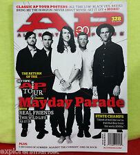Mayday Parade AP Tour Alternative Press Magazine 328 November 2015 Real Friends