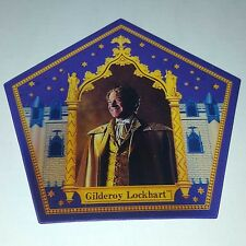 Harry Potter chocolate frog card Gilderoy Lockhart Rare Limited Edition