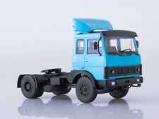 Scale truck model 1:43, MAZ-5432 blue