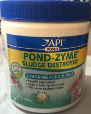 Aquarium Pharmaceuticals Api Pond Zyme With Barley 8 Oz. Free Ship To The Usa
