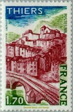 EBS France 1976 - Tourism: Thiers, Puy-de-Dôme (Auvergne) - YT 1904 MNH**