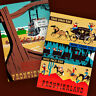 DISNEYLAND Frontierland 2 Poster Prints STAGE COACH RIDE MINE TRAIN Decor 3105