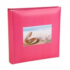 Kenro Pink Oyster Photo Album with Memo Space 200 Photos (6 x 4) HOL113PK UK