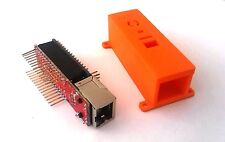 Arduino Gehäuse / Case / Housing - für Arduino Nano V3 + Ethernet Shield -orange