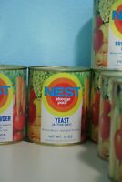 Vintage 1970s Neo-Life NEST Yeast (Active Dry) Can Full Unopened Storage Pack